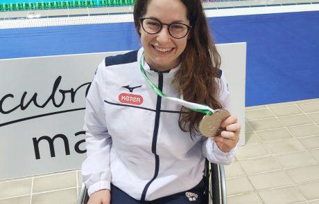 גאווה ישראלית: השחיינית הפראלימפית אראל הלוי זכתה במדליית כסף באליפות אירופה