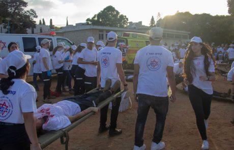 """החופש הגדול בסימן הצלת חיים: מאות בני נוער ממד""""א בחרו ללמוד גם בחופשת הקיץ"""