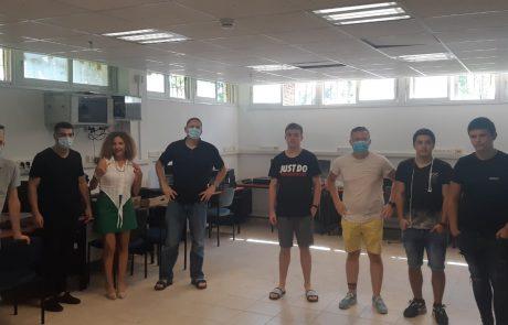 """חדר מחשבים חדש שנתרם על ידי """"נוקיה ישראל"""" נחנך בכפר הנוער יוענה ז'בוטינסקי"""