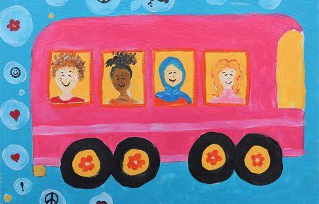 """""""שונים ביחד"""": תלמידים יהודים וערבים ישתפו פעולה בתערוכת ציורים ייחודית"""