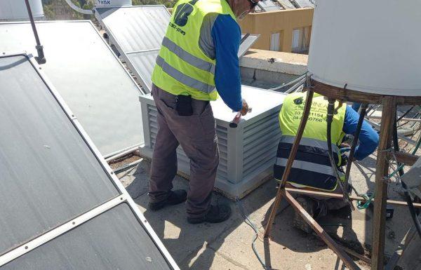 לראשונה: התייעלות באנרגיה בדיור הציבורי באמצעות ארובות סולאריות
